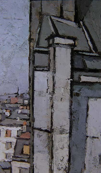 Toits de Paris<br>1926 - 1929 - Abstrait Figuratif - Frédéric FIEBIG