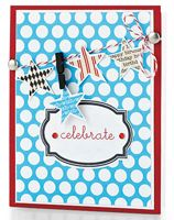 All Star Celebrate Card by @Teri Anderson - supplies and instructions included
