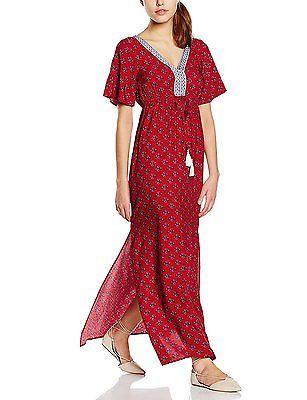 6, Red, Springfield Women's 3.PA.VESTIDO LARGO ROSA dressed NEW