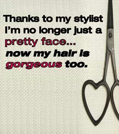 cute hair stylist quotes