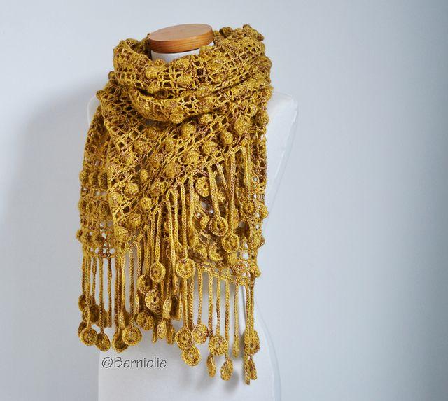 Mejores 1409 imágenes de Crochet en Pinterest | Chal de ganchillo ...