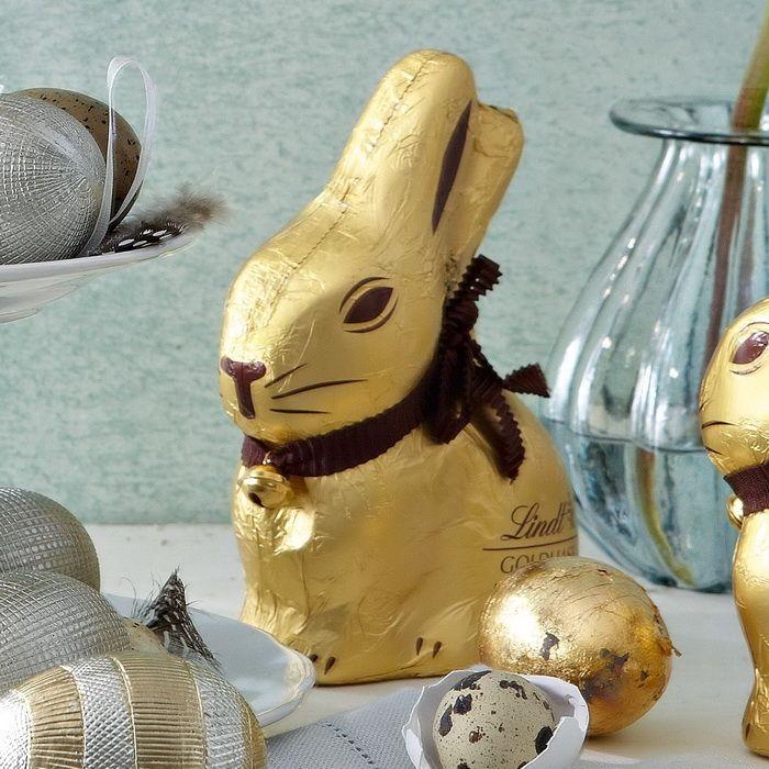 *Lindt chocolate bunny