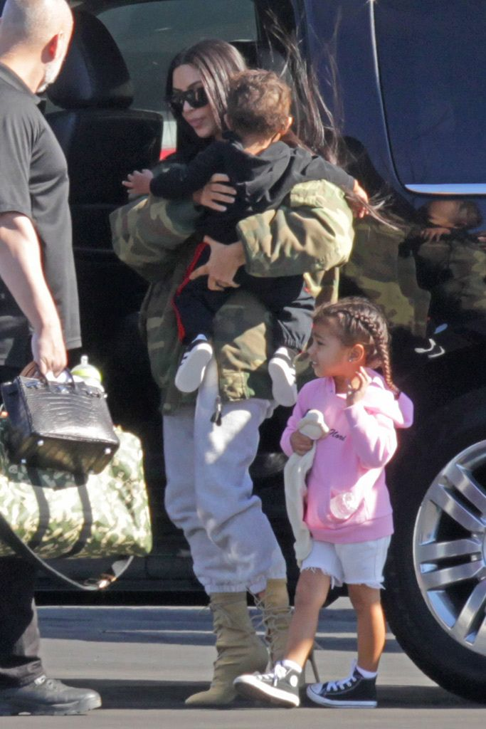 North West S Cool Kid Shoe Style Photos Footwear News Kanye West And Kim Shoe Style Kanye West Photo