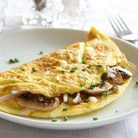 Omelette aux champignons - Cuisine et Vins de France