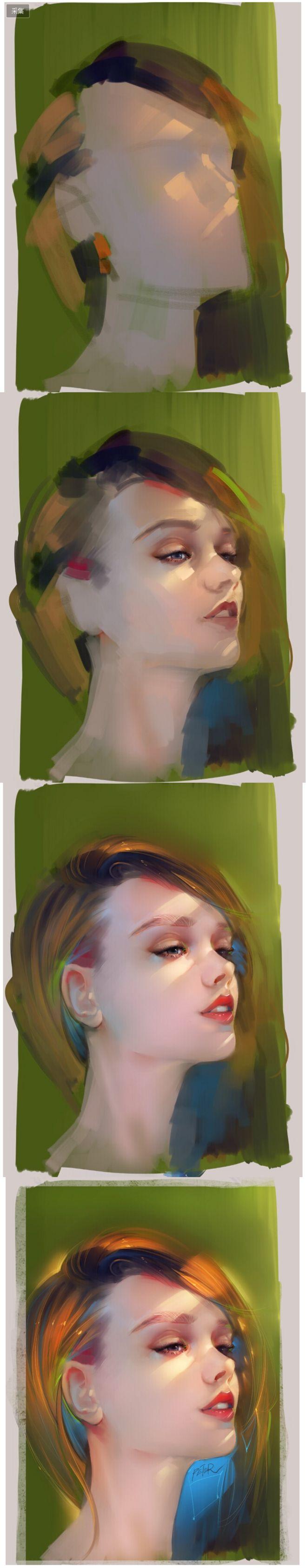 绘画过程|绘画|原创/自译教程|supe...