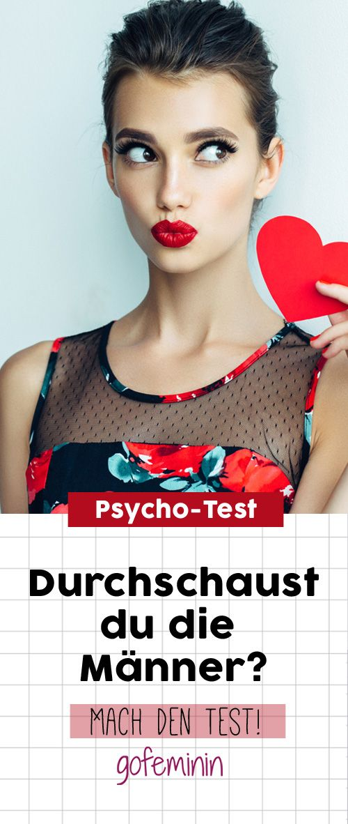 Psycho-Test: Hast du das Zeug zur Männerversteherin?
