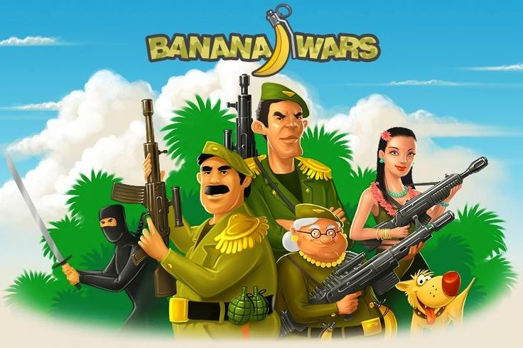 100 Super Games: Banana Wars