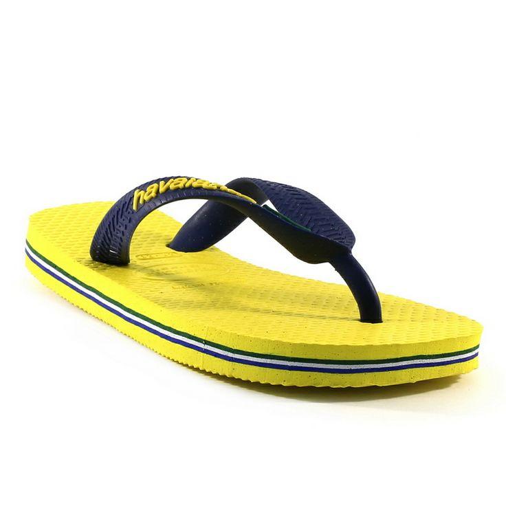 0541a havaianas brazil logo jaune la bande lazare grenoble sp cialiste de la chaussure enfant. Black Bedroom Furniture Sets. Home Design Ideas