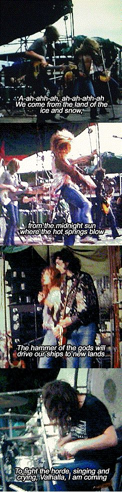 led zeppelin EPIC~The immigrant song