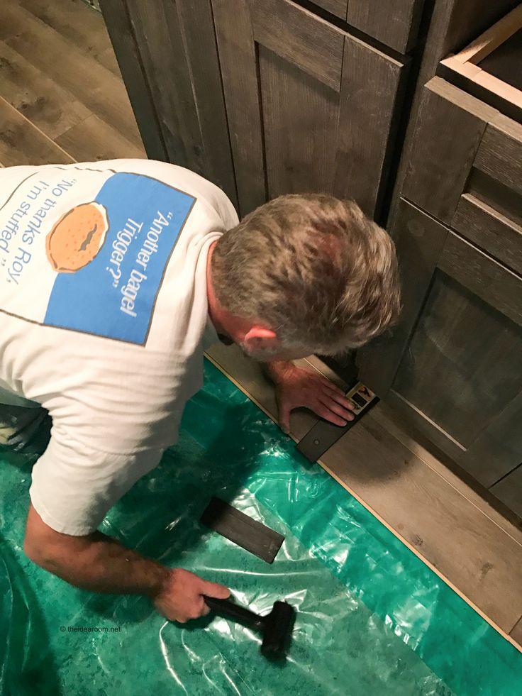 How to DIY Ideas| install-laminate-flooring