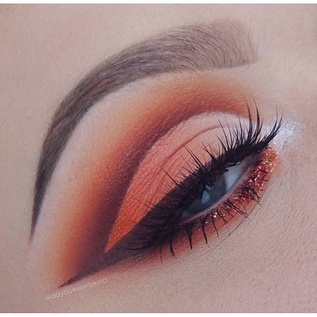 It's Almost Impossible to Watch a Sunset and Not Dream ___ This gorgeous #eotd comes to us courtesy the beautiful Katina aka @doyouevenblend ! She used Star Crushed Minerals' matte loose eyeshadow in 'Chocolate Cherry Cake' as well as #cosmeticglitter in 'Island In the Sun' on her lower lash line along with products from @NYXCosmetics and @Illamasqua to put this look together. ___ Stop by our website NOW to shop 200 glitters 300 eyeshadows and 29 newly added highlighters use code 'GLITTE...