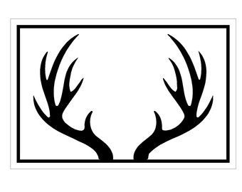 deer antler clip art | Use these free images for your websites, art projects, reports, and ...