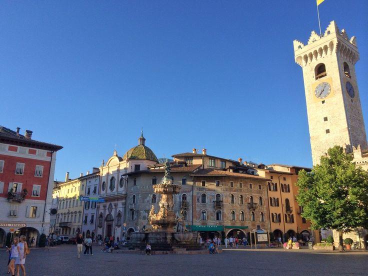 Piazza Duomo nel Trento, Trentino - Alto Adige