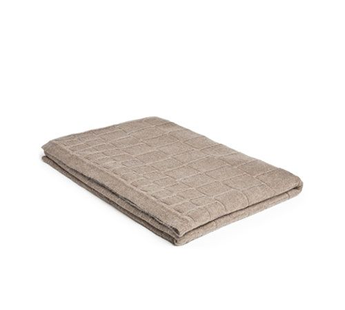 Mrs.Me home couture|blanket|Knitted mohair Croco