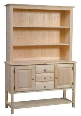 In By Archbold Furniture In Albany, NY   Unfinished Buffet U0026 Hutch