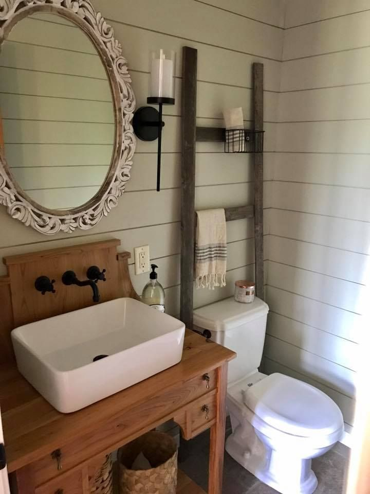 Bathroom redo by one of you!