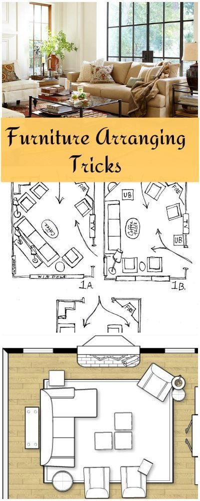 Furniture Arranging Tricks! • Great tips and ideas on arranging furniture! (scheduled via http://www.tailwindapp.com?utm_source=pinterest&utm_medium=twpin&utm_content=post579851&utm_campaign=scheduler_attribution)