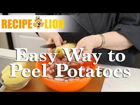 Do you know how to peel potatoes the easy way? Check out this cool how-to video!