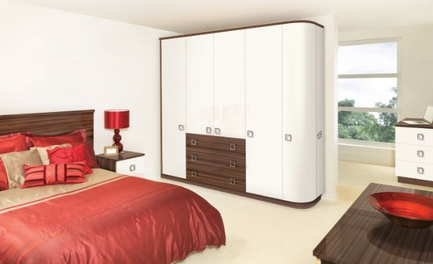 Boost your bedroom style with Glacier White and Noce design