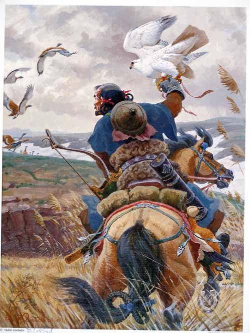 Genghis Khan Warrior, by Vadim Gorbatov