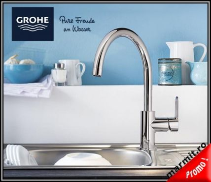 baterie bucatarie Grohe, baterie bucatarie Bauedge, Grohe Bauedge