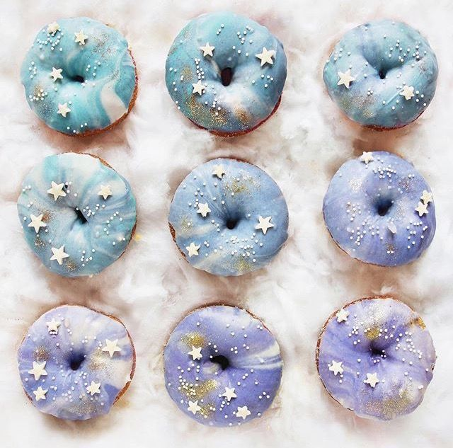 In love with these unicorn inspired donuts!