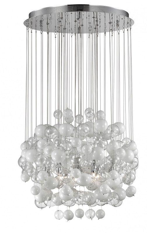 Lustra Bollicine SP14 este alegerea ideala pentru o ambianta plina de rafinament. Descopera mai mult pe www.somproduct.ro/iluminat #iluminat #lustra #candelabru #alb #design #home #light