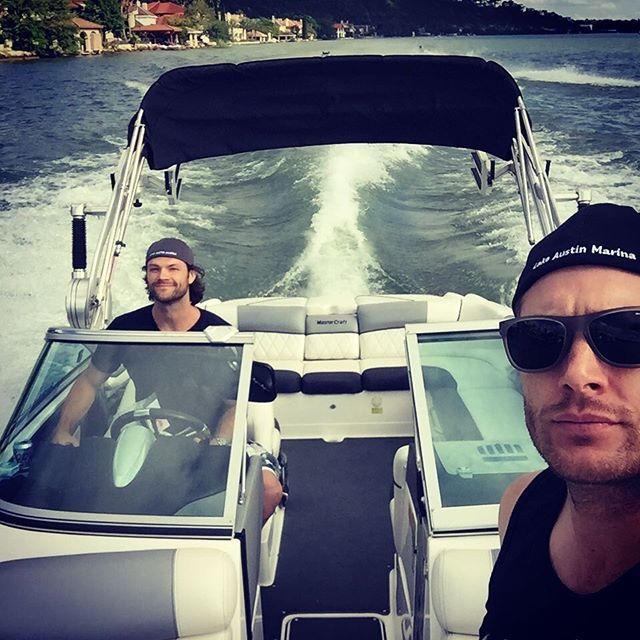 The 33 Best Moments From Jensen and Jared's Supernatural Bromance When They Were All About That Boat Life
