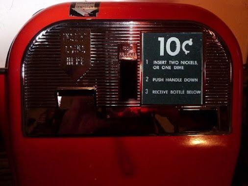 vendo 44 coke machine for sale