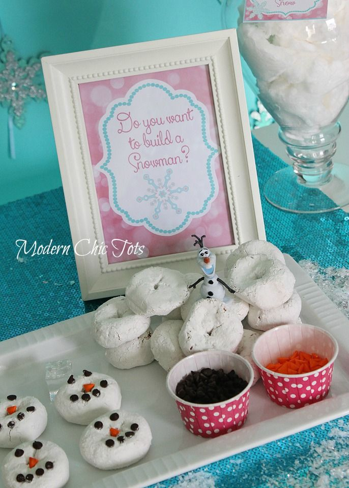 Frozen Party Printable Package