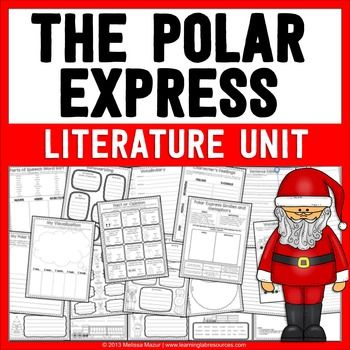 The Polar Express Literature Unit and Activities. This 23-page unit can be used in conjunction with The Polar Express book and movie. Great for 2nd, 3rd and 4th grade classrooms.
