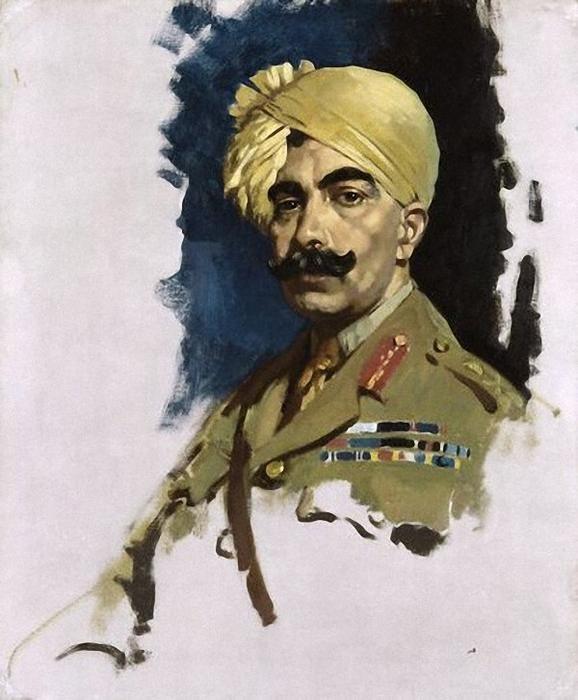 The Maharajah of bikaner - Sir William Orpen