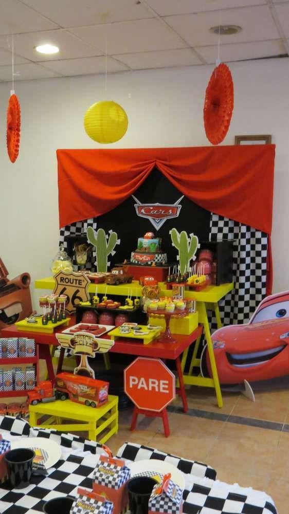 Cars (Disney movie) Birthday Party Ideas | Photo 10 of 21