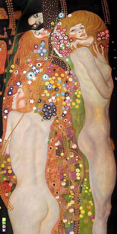 Gustav Klimt, Water serpents II, c.1907. http://ebay.de/