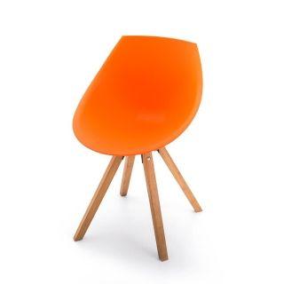 Stolička GORKA, oranžová