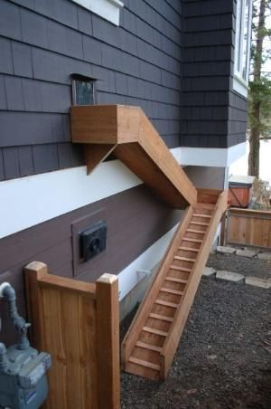 Dog door and ramp... great idea! by odessa