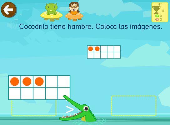 #matematicas Juegos interactivos para niños de 5 años 6 años o 7 años #app #smartphone #edtech #Spanish #tablet #PC