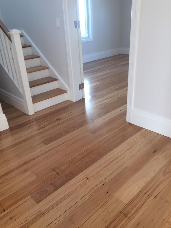130mm blackbutt secret nailed and finished in a low sheen oil finish  via https://www.facebook.com/Contemporary-Timber-Flooring-113875795365935/