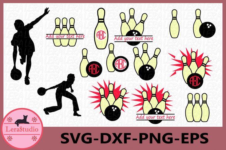 Download Bowling Svg, Bowling Monogram Svg, Bowling Ball SVG ...