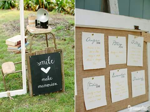 Vintage rustic photo booth. Rustic shabby chic Corkboard perfect for seating chart #queenstvintage #rusticprops #rusticweddings #recycledtimber #prophiresydney #vintageideas #rusticsigns #rusticdrinkstations #rusticsweettables #vintageweddings #rusticwishingwells #timberweddingsigns #drinkstations #photobooth #tablecentrepieces #caketables