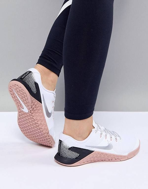 Nike Training Metcon 4 Trainers In White - Sale! Up to 75% OFF! Shop at  Stylizio for women s and men s designer handbags 14ec7f250