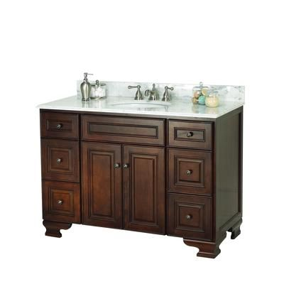 Foremost vanity, 769 at HD 48 inch | Bathroom vanity base ...