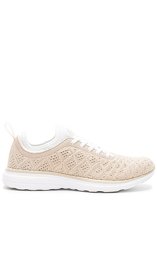 LOVE these Athletic Propulsion Labs: APL sneakers from Revolve! Such a pretty color and so comfy! // https://rstyle.me/n/cv486qcb5bp