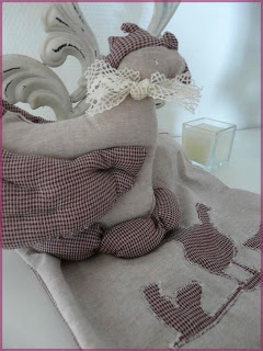 poule / couture / sac