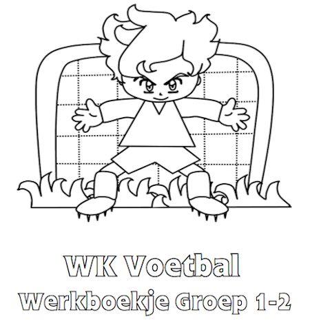 WK Voetbal Werkboekje Groep 1-2