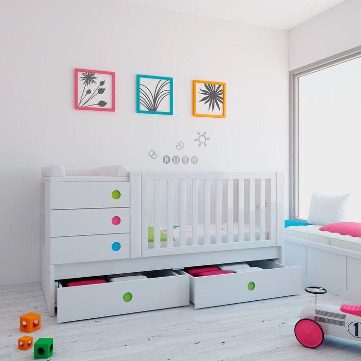 ... bebe cuna convertible para bebu00e9s cuarto bebe alondra habitaciones
