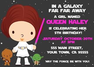 Star Wars Party - Girls!