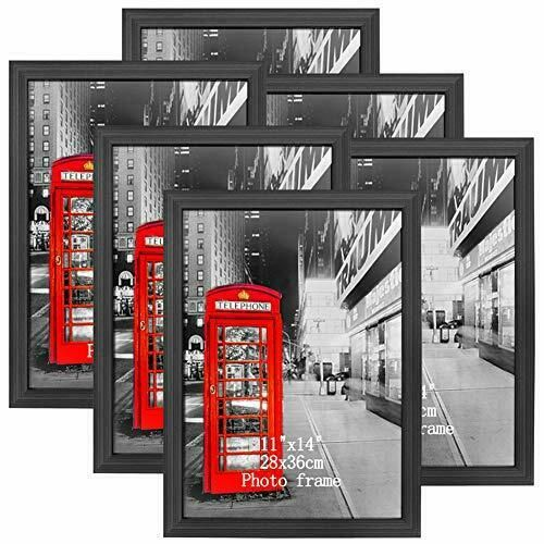 Amazing Roo 6 Pack 11x14 Picture Frame Without Mat To Display Photo 11 X 14 Inch Ebay In 2020 11x14 Picture Frame Gold Ornate Picture Frames Wooden Picture Frames