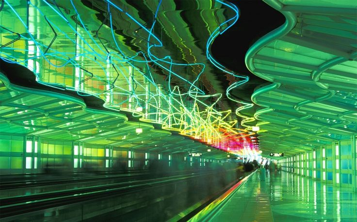 O'Hare International Airport in Chicago - Nine American Airports for Art Lovers   Travel + Leisure
