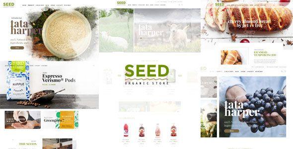 Seed - Organic WordPress Theme